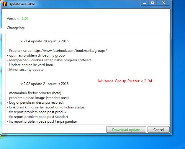 Advance group poster update v2.04 apa aja yang baru? yuk cek