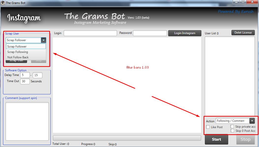 The grams versi 1.03 udah ready, apa aja yang baru? cek sini