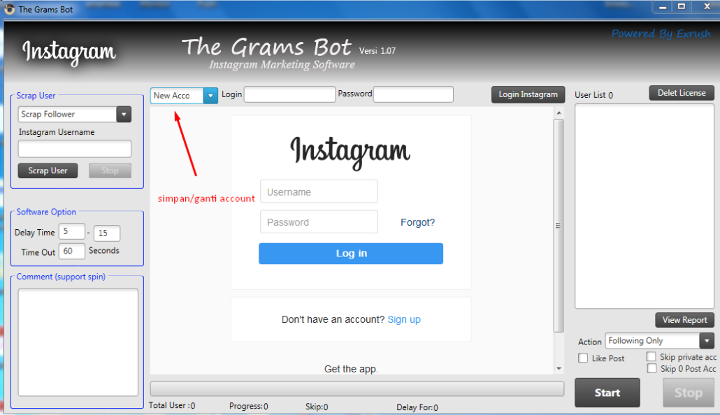 instagram-bot-simpan-account