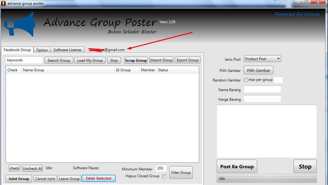 Advance Group Poster Update v 2.05