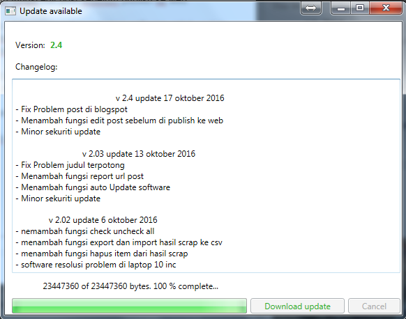 tokobot v 204 update post sebelum publish ke wordpress atau blogspot